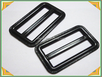 sliding metal suspender adjuster buckle