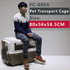Pet soft crate/ pet transport cage for pets