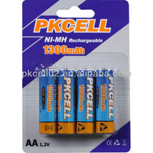 High quality environmental AA/AAA/C/D Ni-MH rechargable battery