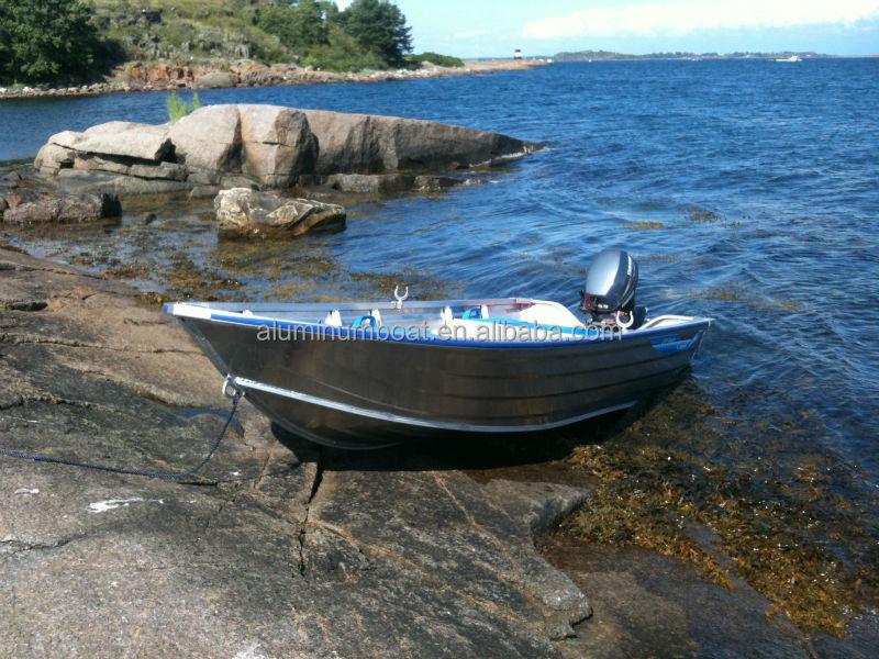 Aluminum boat 400 catch aluminum fishing boat for Fishing boat manufacturers