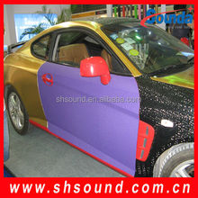 Popular new car vinyl wrap