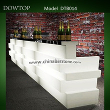 Professional Manufacturer LED bar furniture,luxury LED bar table,fantastic bar counter