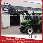 110hp AC trator agrícola 1104 trator motoniveladora lâmina e front load