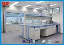 Acid and alkali resistance steel lab central bench for chemical / School lab furniture