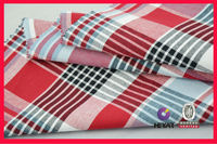 Striped and plaid fabrics shirting fabric fancy shirting fabric