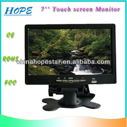 "2015 touch screen monitor for toyota prius and honda civic/lcd touch screen monitor/tft 7"" usb touch screen lcd monitor"