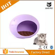 2015 plastic pet bed with pad /pet house/cat house