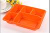 2015 design biodegradable Plastic disposable bento food storage Box