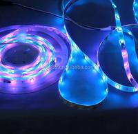 flex RGB LED stripe(UCS1903),dream magic color,12V/24V DC input,5M or customized length.