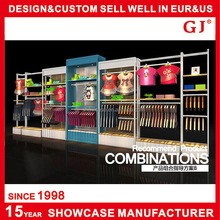 Custom high-grade clothing store design shop fitting for clothing