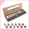 branded eyeshadow makeup palettes eye brow brushes comb