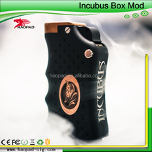 popular products electronics Dual 18650 batteries in parallel copper incubus mechanical box mod in stock