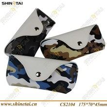 PU Leather Soft camouflage glasses case