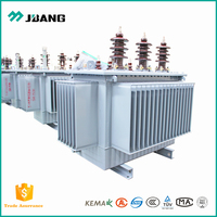 Electrical AC 10kV 400V 50Hz 30kVA Yyn0 three-phase oil cooling full copper toroidal winding power transformer