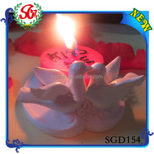 SGD154 lovers bird weeding candle holder ,christmas candle holder