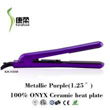 Professional 100% pure ceramic hair straightener with temperature 450F