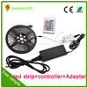 IP20 and IP65 rgb continuous length flexible led light strip with remote controller and 3 years warranty