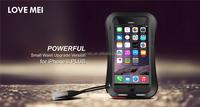 Lovemei Mobile Phone Accessory Case Aluminum Waterproof Case for Apple iPhone 6 plus