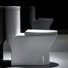 Siphonic Ceramic Toilet ,Bathroom toilet pot sanitary ware,S-trap 300mm One-piece Toilet