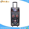 Supply all kinds of ibox speaker,bluetooth speaker emc,active music trolley speaker with disco ball