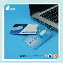 Free sample wholesale business Credit Card Usb stick whole sale usb flash with custom logo