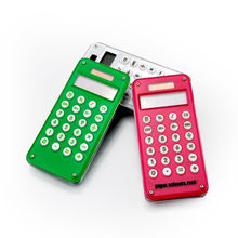Acrylic Calculators with Puzzle Game for Kids, Calculator Solar Cell