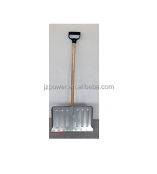 roof snow shovel 7837,varnished ash wood or coated steel,roof snow pusher