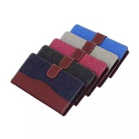Jeans Mobile Phone Cover For Sony Xperia Z4 PU Leather Wallet Case