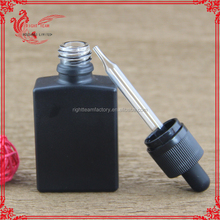 shenzhen zhongye import and export co lt 30 ml black glass bottle liquid glass dropper bottle with childproof tamper evident cap