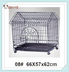 Wire folding pet crate dog cage / dog crate / cheap dog crate