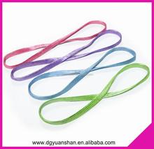 Whole sale shining elastic headbands,hair accessories