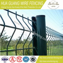 high security and pratical welded Wire Mesh Fence(manufacture)