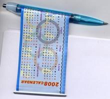 Banner Pen Plastic Promotional Click Cheap Ballpoint Pen Printing Custom Design Advertisement Flag BallPen