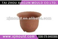 Injection plastic mold for flower pot