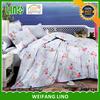bedding set hotel printed quilt/new bed sheet design/dog print duvets