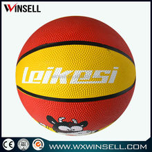 2015 rubber promotion gift basketball