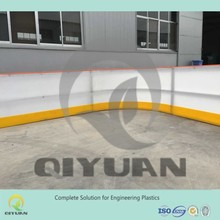 Roller ice skating board/ HDPE artificial ice rink/ hockey shooting synthetic ice floor