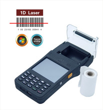 handheld android pos printer with 2 inch thermal printer wifi, 3G, 1D barcode reader, Multi langauge-CILICO CI350