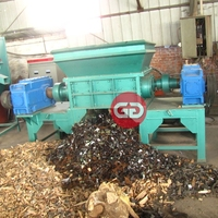 Alibaba website aluminum cans shredder crusher machine