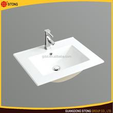 New design bathroom cabinet wash basin cheap price