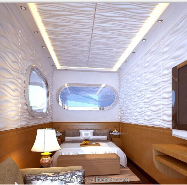Interior decoration 3d effect building material waterproof for A d interior decoration contractor