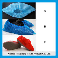 Active demand ,non-woven disposable shoe cover for work place or clean room