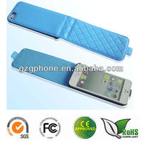 Leather cover case for iphone 5 with many colors