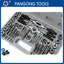 40 Piece Tap And Die Set - Covers M3 to M12 and 1/8-27 NPT Threads