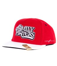Flat Fitty Cap Family Matters Snap Back - Size: red/white