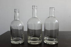 TRANSPARENT EMPTY GLASS BOTTLES 500ML SALE