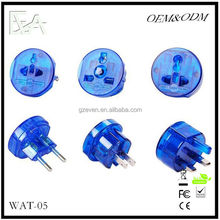 Universal Adapter Travel US EU AU UK Power Plug World Converter Australia to EUrope Adapter