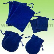 2015 New Mini Drawstring Velvet Bag For Gift Wrap Storage