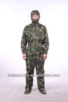 radiation protective overalls, camoflage military uniforms