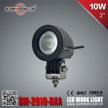Round 2 Inch Mini 10W LED Work Light, LED Bycicle Light, Motorcycle Light_SM-2010-RXA
